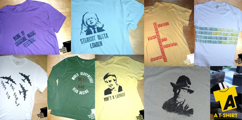 A T-Shirt Everyday designs
