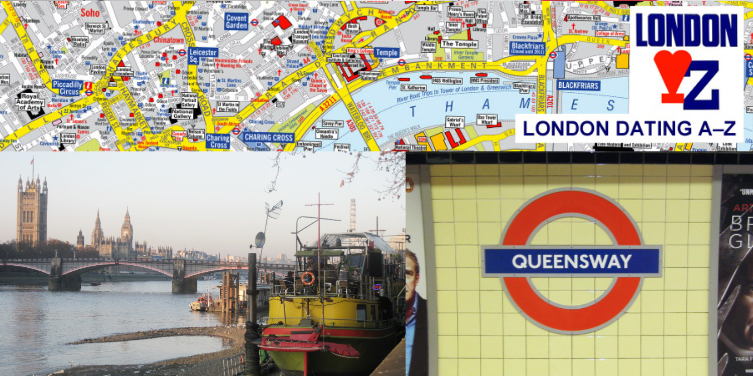 London A-Z map and pics