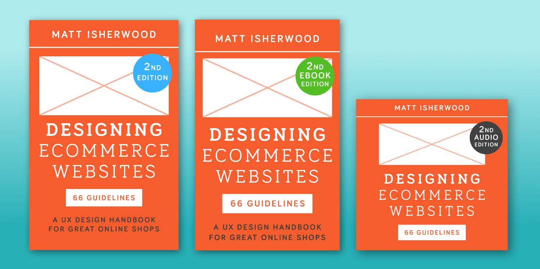 Designing Ecommerce Websites books