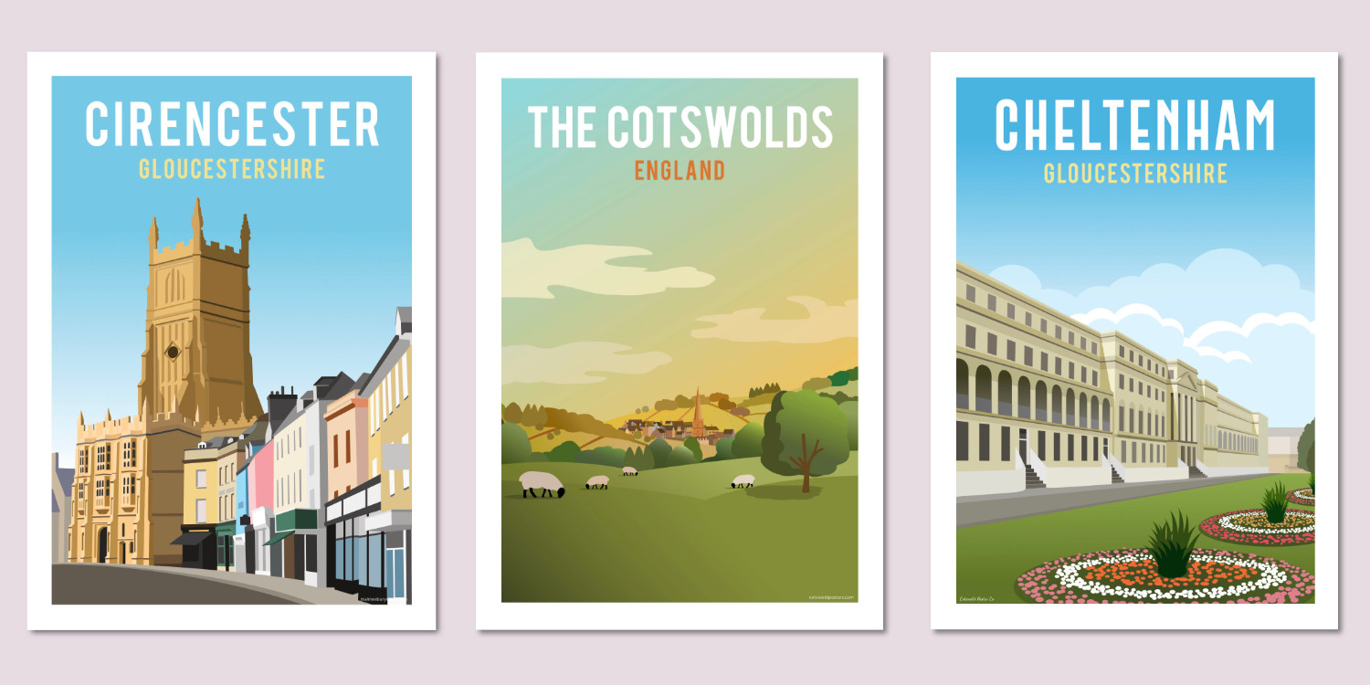 Cotswold Poster Co prints
