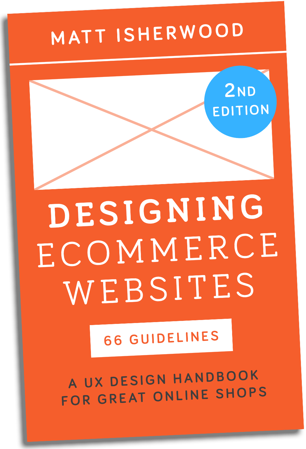 Designing Ecommerce Websites 2nd edition book cover