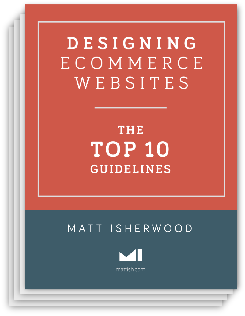 Designing Ecommerce Websites free ebook