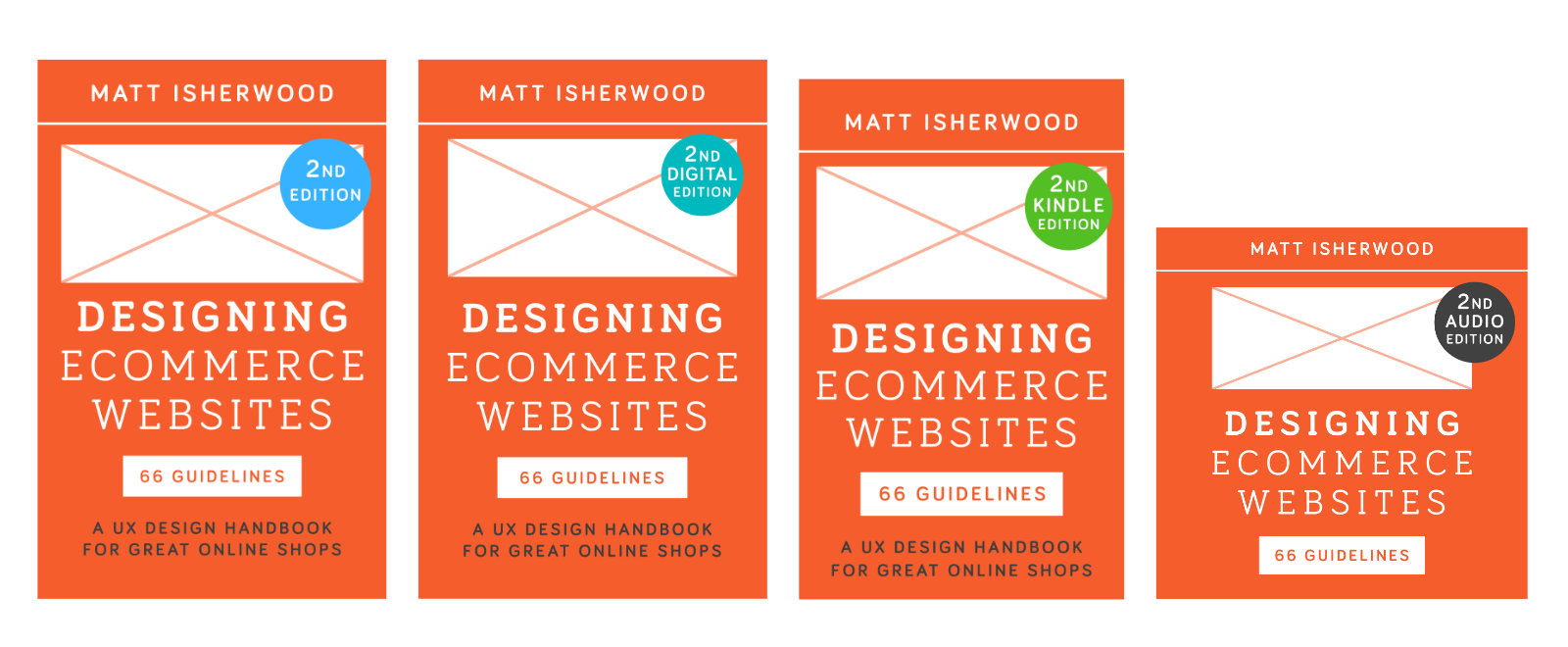 Designing Ecommerce Websites second edition covers