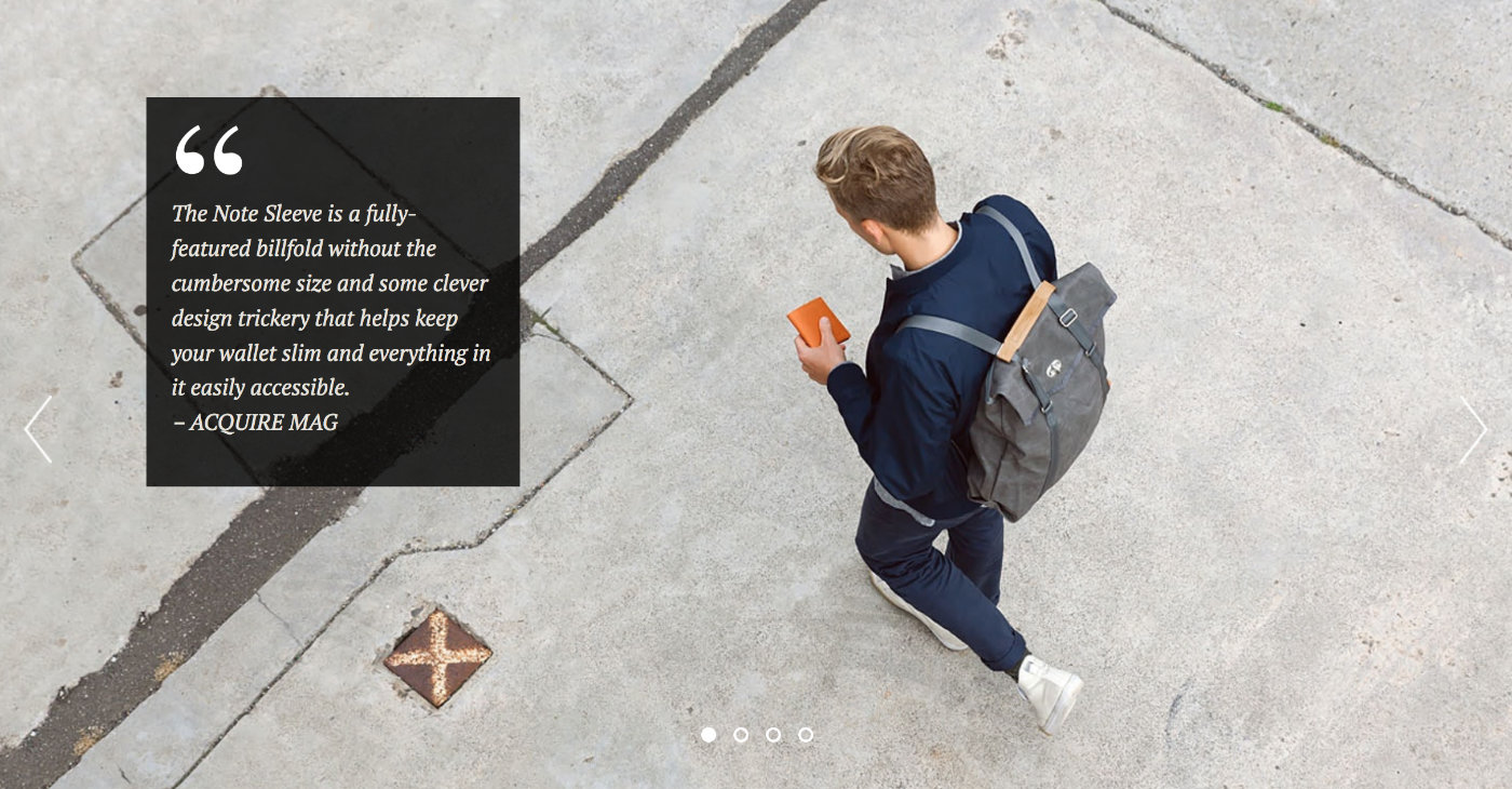 Bellroy product quote